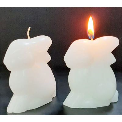 Picture of Bunny candle - 4,7cm (L) x 7,5cm (W) x 9cm (H)