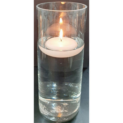 Picture of Floating candle plain - 10cm (D) x 4cm (H)