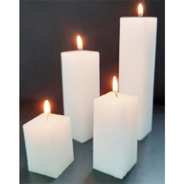 Picture of Square candle - 4,5cm (L) x 4,5cm (W)