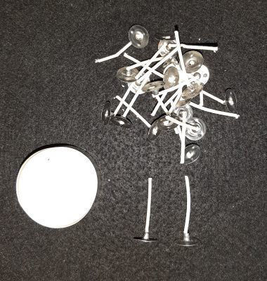 Picture of Tea light wicks tabbed - 24 pack