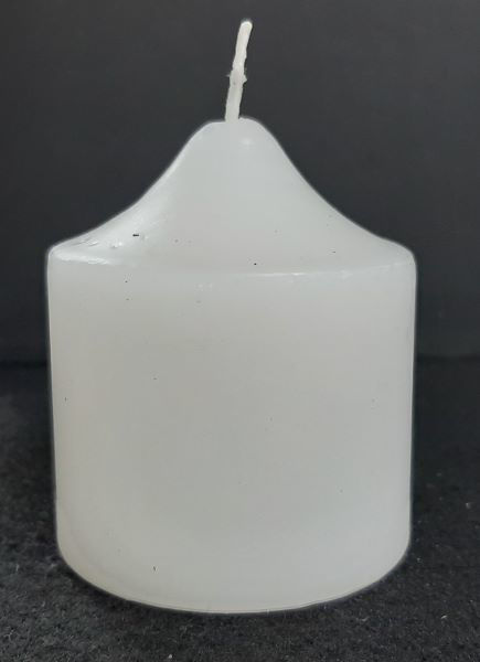 Picture of Votive candle flat top - 4,5cm (D) x 5cm (H)