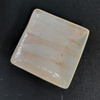 Picture of Candle holder - Glazed ceramic - 11cm (L) x 11cm (W) x 2cm (H) OUT of STOCK