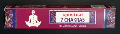 Picture of Sri Durga - 7 Chakras incense