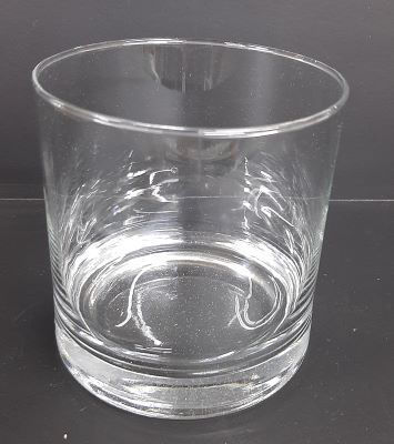 Picture of Candle holder - Glass cylinder - 10cm (D) x 10cm (H)