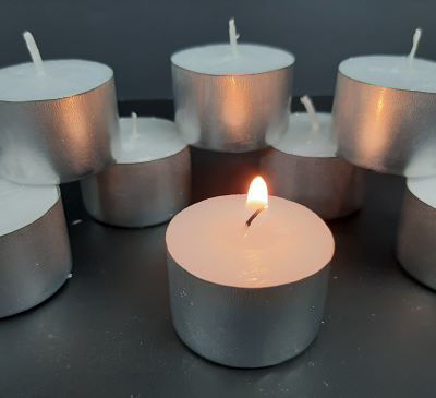 Picture of Tea light candles 8-hour - single