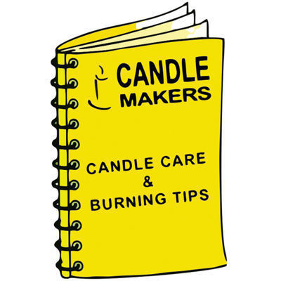Picture of Candle care and burning tips