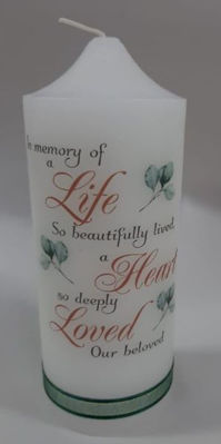 Picture of Memorial candle